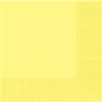 Light Yellow Luncheon Napkins-50 Ct