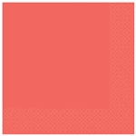 Pantone Living Coral Luncheon Napkins
