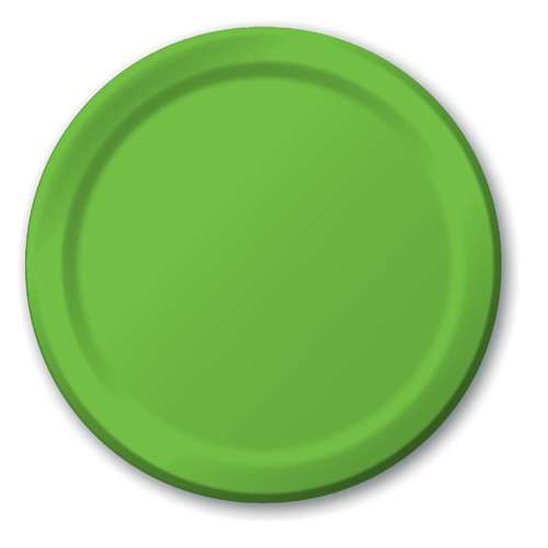 KIWI LUNCHEON PAPER PLATES 9in.-20 Ct  sc 1 st  Bartz\u0027s : green paper plates - pezcame.com