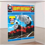 THOMAS ALL ABOARD SCENE DECO SET