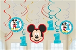 Mickey's Fun To Be One Swirls Value Pack Decorations