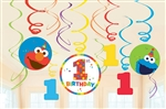 Elmo Turns One Swirls Value Decorating Pack