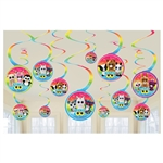 TY Beanie Boos Hanging Spiral Decorations