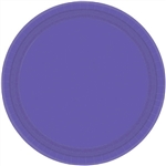 New Purple 10 inch Paper Plates