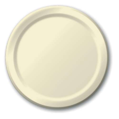 IVORY DINNER PAPER PLATES 10.5in -20 CT  sc 1 st  Bartz\u0027s & Ivory Dinner Paper Plates 10.5in -20 CT - Bartz\u0027s Party Stores