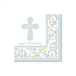 BLESSED DAY CHRISTENING LUNCHEON NAPKINS