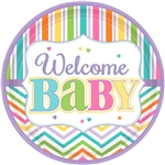 Welcome Baby 10in Plates