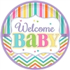 Welcome Baby 7in Plates