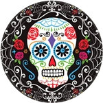 Day of the Dead 7in Plates