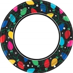 Twinkle Lights 9 Inch Paper Plates