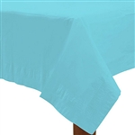 Caribbean Blue 54in.X108in. Tablecover