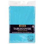 Carribean Blue 84in. Round Tablecover