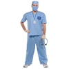 Doctor MD Adult Plus Size Costume w/ Accessories