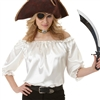 Ivory Pirate Blouse