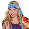 Tye-Dyed Hippie Headscarf
