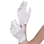 White Cotton Gloves - Adult Size