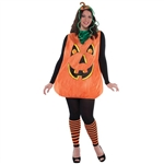 Pretty Pumpkin Plus Size Adult Costume
