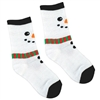 Snowman Socks - Child Size