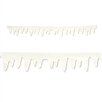 Icicle Fabric Decorations