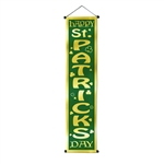 Velvet Saint Patricks Day Banner