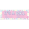 """It's a Girl"" Sign Banner"