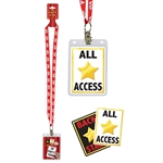 VIP Party Pass Lanyard