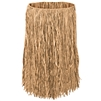 RAFFIA HULA SKIRT - ADULT SIZE - NATURAL