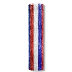 METALLIC COLUMN - RED  WHITE  AND BLUE