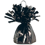BLACK MYLAR BALLOON WEIGHT