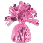 PINK MYLAR BALLOON WEIGHT