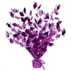 Graduation Cap Purple Gleam N Burst Centerpiece