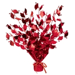 Graduation Cap Red Gleam N Burst Centerpiece