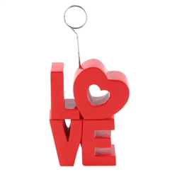 Love Photo/Balloon Holder 6oz