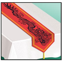 ASIAN PRINTED TABLE RUNNER