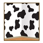 Cow Print Backdrop Decoration