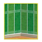 Football Field Backdrop Decoration