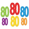 """80""Cutouts Assorted Colors"