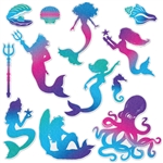 Mermaid Assorted Cutouts Value Pack