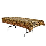 Tiger Print Table Cover