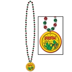 Beads with Fiesta Medallion