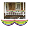 Colorful Fence Draping