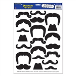 Mustache Wall Clings
