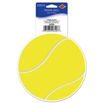 Tennis Ball Peel 'N Place Sticker Cling