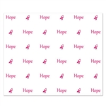 Hope - Pink Ribbon Insta-Mural Background Decoration