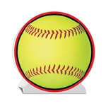 Fastpitch Softball 3-D Centerpiece