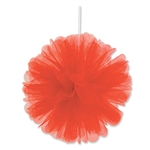 RED TULLE BALLS