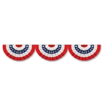 Red  White  And Blue Bunting Cutout