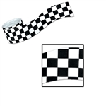 Checkered Flag Crepe Streamer