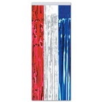 Red, White and Blue Metallic Gleam 'N Curtain