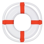 Plastic Life Preserver Decoration